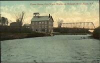 Rome NY Power House City Water Works c1910 Postcard