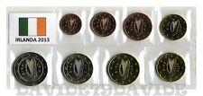 IRLANDA 2013 - SERIE COMPLETA 8 MONETE EURO - FIOR DI CONIO IN BLISTER