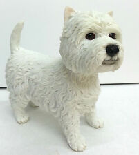West Highland Terrier Dog Ornament Figurine Brand New Boxed