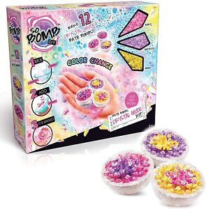 Canal Toys So Bomb DIY Mini's 12 Pack Crystal Geode Kit Make Your Own Bath Bombs