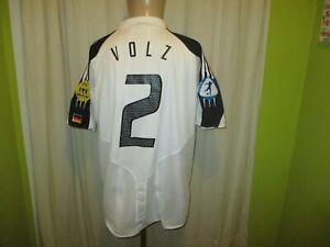 "Germany "" DFB "" Original adidas Matchworn Jersey 2004-2006 +Nr.2 Volz Size XL"