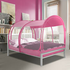 Alvantor Sleeping Dream Tents Portable Mosquito Net Bed Canopy Full Pink Tent