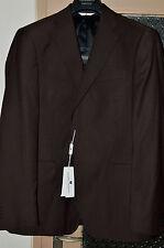 Pierre Balmain dark brown Luxury 100% wool blazer jacket EU 54/UK 44 from Italy