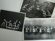 Lot photo ballet opéra GRAND THEATRE DE GENEVE SPECTACLE BALANCHINE 1978