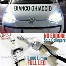 Kit Lampade Luci LED H4 Volkswagen UP tuning 6500K CANBUS no error 8000 LUMEN VW