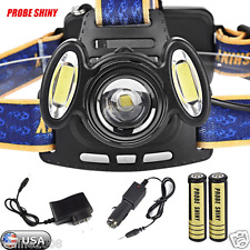 15000Lm 3x XML T6 Rechargeable Headlamp HeadLight Torch USB Lamp 18650 Charger