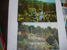 Alton Towers J Arthur Dixon 1 Photogravure and 1 photoprint postcards