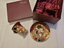 Beautiful Rare Benaya - Kiss '09 - Cup and Saucer - in Original Box