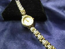 Woman's Acura Indiglo Watch with Brushed Gold Tone Band **Nice** ME-147