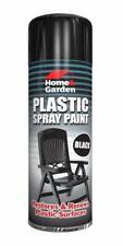 Renew Plastic Furniture Garden Chair Aerosol Spray Paint Top Under Coat Black