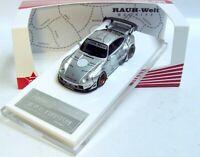 "1:64 FUELME RAUH-Welt PORSCHE 911 (993) RWB ""Silver Phantom"" silver LE 1,999 pcs"