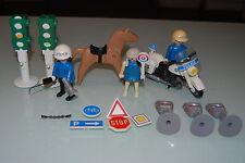 Playmobil 3489 c) Toda la policia de playmobil de 1988