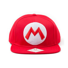 Official Nintendo - Super Mario M Logo - Snapback Cap
