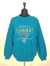 Lee Sport Mens XL Sweatshirt Jacksonville Jaguars Football League Aqua Blue