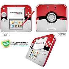 Pokémon Pokeball vinile SKIN ADESIVO PER NINTENDO 2ds