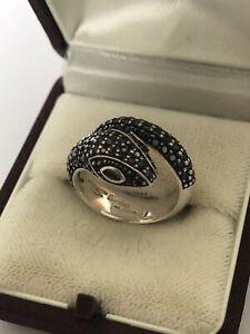 Thomas Sabo / Ring Schlange Pavé / 925er