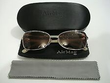 79e63f9b476 Clariti AirMag AE6522 G Champagne W Polarized Magnetic Clip-On Eyeglasses  Frame