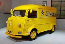 Miniature Citroen Type H le Tube Gris tole Welly 1/24