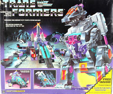 TRANSFORMERS G1 ROBOT TRYPTICON JAPAN BATTERY TOYS GIOCATTOLO GIOCO