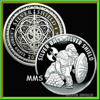 2021 1oz Silver Backed Silver Shield SBSS Proof MiniMintage PRESALE ***