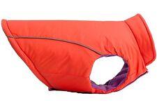 EXPAWLORER Reversible Reflective Sport Vest Dog Jacket Coat Orange Purple Medium