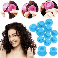 Hair Curler 10Pcs Magic Heatless Curlers Silicone Hairs Care Roller Styling Tool