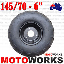 "145/70 - 6"" inch Front Rear Wheel Rim Tyre Tire Quad Bike ATV Buggy Gokart kids"