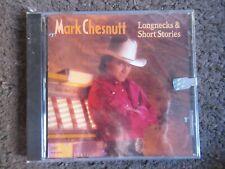 "MARK CHESNUTT ""LONGNECKS & SHORT STORIES"" 1992 ORIGINAL RELEASE STILL SEALED!"
