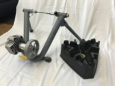 Used Cycleops Jet Fluid Trainer with Climbing Riser Block