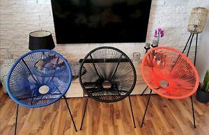 Retro Acapulco Stuhl MEXICO Lounge Gartensessel Sessel Indoor Outdoor Sessel