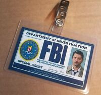 Supernatural ID Badge- Special Agent Angel Castiel prop costume cosplay