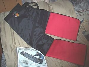 """Up To 8 Rod & Reel Carrier Soft Case Extreme Caddy 7'2"""" Rod Case Water Resistant"""
