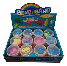 Box of 12 LARGE Space Moon play Sand, Mold-N-Play Creative Kids DIY Party Gift