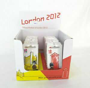 24 x London 2012 Olympic and Paralympic Games Pin Badges Mascot Wenlock, NEW