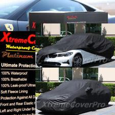 2019 2020 BMW 330I 340I 328D WATERPROOF CAR COVER W/MIRROR POCKET BLACK