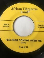 "UNKNOWN SOUL FUNK 45/SAKU(AFRICAN VIBRATIONS BAND) ""FEELINGS COMING OVER ME"""