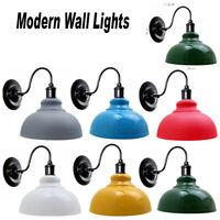 Vintage Colour Wall Lamp Industrial Retro Loft Iron Lights Sconce Lamp Fixture