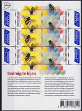 Netherlands 2021 Europa CEPT, Fauna, Insects, Bees, Endangered Wildlife MNH**