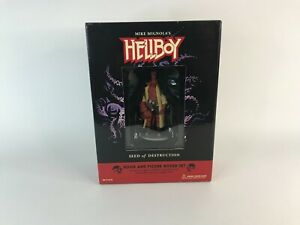 hellboy book and figure box set - seed of destruction