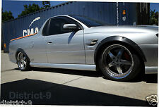 HOLDEN VU/VY/VZ WHEEL GUARD FLARES BODY KIT - QUALITY DURABLE FLEXI PLASTIC