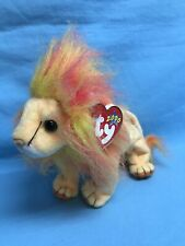 Ty 2000 Beanie Babies Bushy Lion 9� Plush Stuffed Animal Toy ~ New