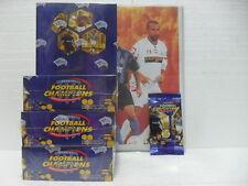 FOOTBALL CHAMPIONS 4 box 36 buste 7 carte + Raccoglitore PANINI 14 fogli 9 carte