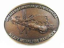 Dresser Tool Services Heavy Metal For Hardrock Brass Belt Buckle Unbranded