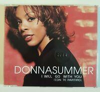 DONNA SUMMER : CON TE PARTIRO // I WILL GO WITH YOU (REMIXES) ♦ MAXI-CD ♦