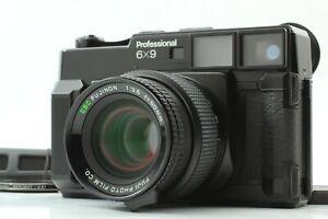 """""""NEAR MINT Count: 115"""" FUJICA Fuji Fujifilm GW690 Pro 90mm f/3.5 Lens JAPAN"""