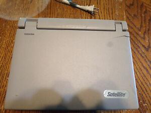 Toshiba Satellite 105CS Retro Pentium Notebook