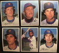 1981 Topps NEW YORK Mets COMPLETE SET Jumbo 5X7 LEE MAZZILI Rusty STAUB Flynn