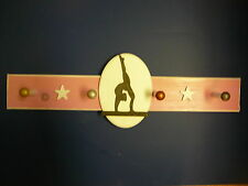 Gymnastics (Female) Sports Medal Display Hanger, 4 Peg
