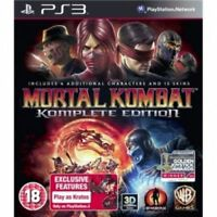 Mortal Kombat Komplete (Complete) Edition Game PS3 Brand New - 1st Class Deliver