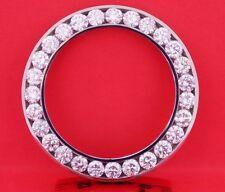 9.00 Carat Diamond Bezel Custom made for Rolex DateJust II 2 Huge Bezel 41mm Men